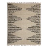 MoDRN Scandinavian Linear Triangles Area Rug