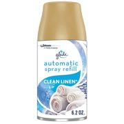 Glade Automatic Spray Refill Clean Linen, Fits in Holder For Up to 60 Days of Freshness, 6.2 oz, 1 Refill