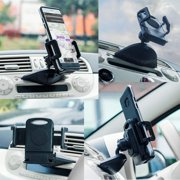Universal Cellphone Car Mount Cradle Bracket Holder for Smartphones adjustable swivel tilting Cellphone Holder