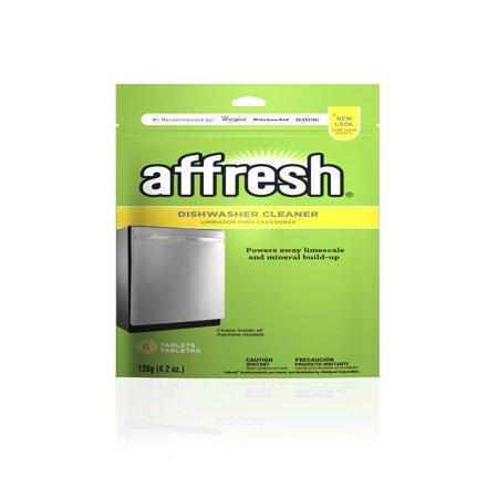 01 Dishwasher - Affresh Dishwasher Cleaner Tablets, 6 count