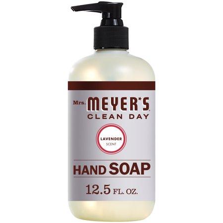 (3 pack) Mrs. Meyer's Liquid Hand Soap, Lavender, 12.5 Oz (Lavender Liquid Soap)