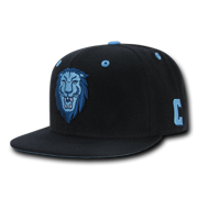 NCAA Columbia University Lions Retro Flat Bill Accent Baseball Caps Hats 86a6dc634c40