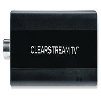 ClearStream TV Over-the-Air Wi-Fi Tuner Adapter, Connects to Any TV Antenna, Use the Free App to Record and Pause Live TV, Watch Recordings On-The-Go, No Monthly Fees (New Open Box)