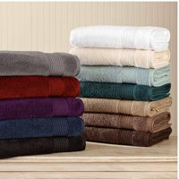 Better Homes & Gardens Extra Absorbent Solid Bath Towel Set - 6 Piece Set