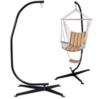 Costway C Hammock Frame Stand Solid Steel Construction