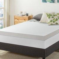 Deals on Best Price Mattress 4 Inch Memory Foam Mattress Topper Twin