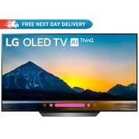 """LG 65"""" Class B8 OLED 4K HDR AI Smart TV 2018 Model (OLED65B8PUA)"""