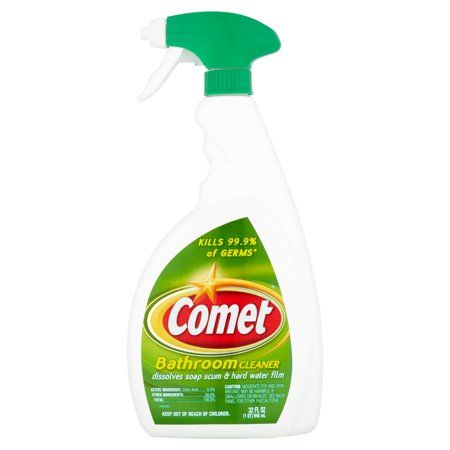 Comet Disinfecting Cleaner - (2 Pack) Comet Bathroom Cleaner, 32 fl oz