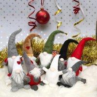 Handmade Swedish Tomte, Santa, Scandinavian Gnome Plush Birthday Present, Home Ornaments Holiday Decoration Table Decor