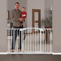 """Dreambaby® Chelsea Auto-Close, Smart Stay-Open 38""""-53"""" Wide Metal Baby Gate"""