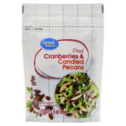 Great Value Dried Cranberries & Candied Pecans, 3.5 oz