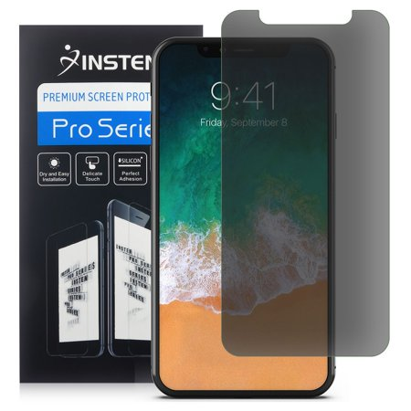 iPhone X Screen Protector Privacy by Insten Privacy Anti-Spy Screen Protector LCD Film Guard Shield for Apple iPhone X - New Lcd Guard