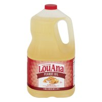 LouAna Peanut Oil, 128.0 FL OZ