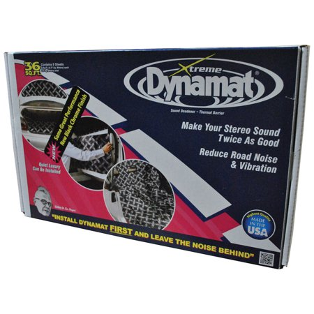 Dynamat Xtreme Door Kit (DYNAMAT XTREME 36 SQ FT BULK PACK; 9 SHEETS)