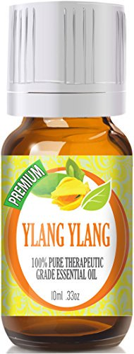 Healing Solutions - Ylang Ylang Oil (10ml) 100% Pure, Best Therapeutic Grade Essential Oil - 10ml