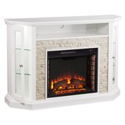 Southern Enterprises Redden Convertible Electric Media Fireplace