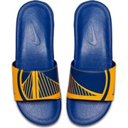5093e4d1fe35 Golden State Warriors Nike Benassi Solarsoft NBA Slides - Yellow