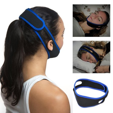 - Snore Stop Adjustable Anti Snoring Chin Strap Quiet Sleeve Jaw Solution Belt Reduce Sleep Stress Sleep Apnea