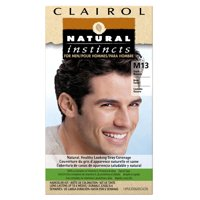 Clairol Natural Instincts Hair Color for Men, M9 Light Brown, 1 Kit