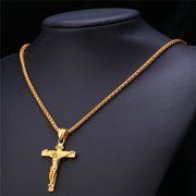 0412a66459460 Men's Gold Chains with Pendant
