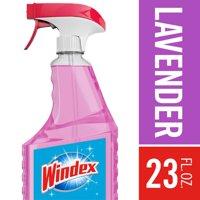 (2 Pack) Windex Multi-Surface Cleaner Trigger Bottle, Lavender, 23 fl oz