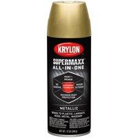 Krylon SuperMaxx Paint 12oz Gold Metallic