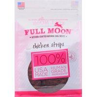Full Moon All Natural Human Grade Dog Treats, Chicken Strips, 12 Ounce