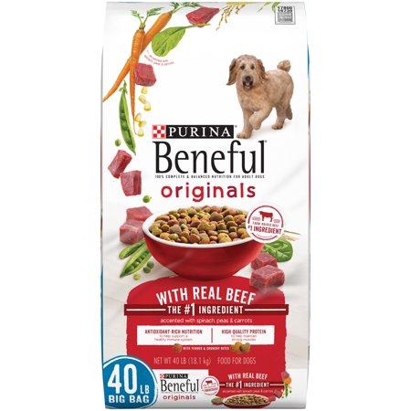 Purina Beneful Originals With Real Beef Adult Dry Dog Food - 40 lb. (Beneful Beef)
