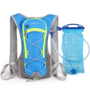 Hydration Pack with 2L/70oz Water Bladder Reservoir (BPA Free), Lightweight Backpack