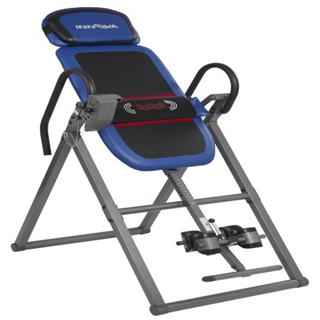Innova Fitness ITM4800 Advanced Heat and Massage Therapeutic Inversion Table ()