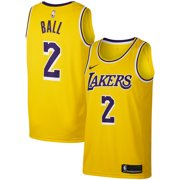 872ad1c2872 Lonzo Ball Los Angeles Lakers Nike Replica Swingman Jersey - Icon Edition -  Gold