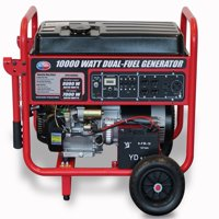 All Power 10000 Watt Dual Fuel Generator APGG10000GL, 10000W Gas/Propane Portable Generator with Electric Start, EPA Certified