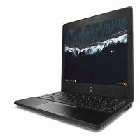 "Refurbished Teqnio 11.6"" Chromebook Laptop, Quad-Core Processor, 4GB Ram, 32GB Hard Drive, Black"