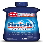 Finish Jet-Dry Rinse Aid, 23oz, Dishwasher Rinse Agent & Drying Agent