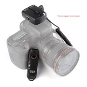 Viltrox JY-120-C1 2.4GHZ FSK Wireless Remote Shutter Controller Set Time Lapse BULB with C1 Cable 100m Distance for Canon 60D 70D 600D 650D 700D Pentax K5 ...