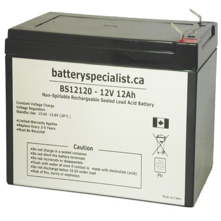 UB12120 F2 KID TRAX 12 VOLT 12 AH RECHARGEABLE REPLACEMENT BATTERY - image 1 of 2