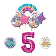 Mayflower Products JoJo Siwa 5th Birthday Balloon Bouquet Decorations And Party Supplies