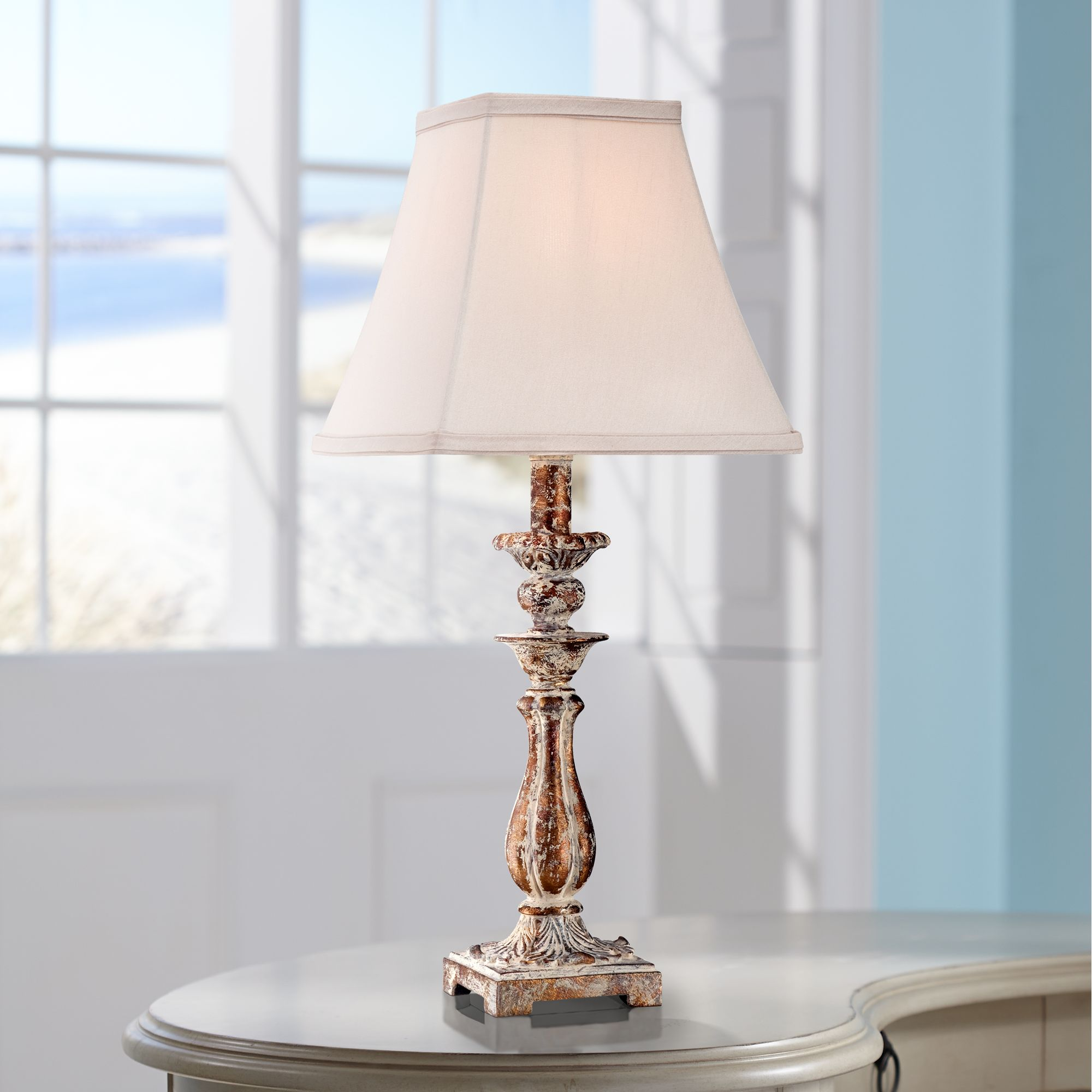 Distressed Lamps