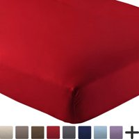 Premium Luxury Ultra Soft Wrinkle Resistant Fitted Sheet by Bare Home