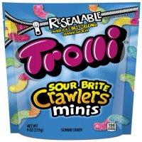Trolli Sour Brite Crawler Minis Gummi Candies, 9 Oz.