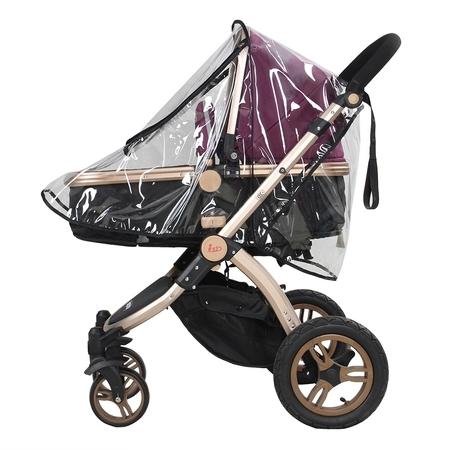 - Ejoyous 1PC PVC Universal Waterproof Baby Stroller Rain Cover Dust Wind Shield Pram Accessory, Baby Pushchair Shield, Stroller Rain Cover