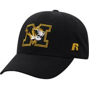 425521ec Men's Russell Black Missouri Tigers Endless Adjustable Hat - OSFA