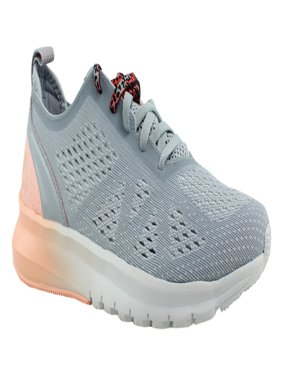 Reebok Womens Print Smooth Clip Ultraknit Gray Running, Cross Training Shoes Size 6 New