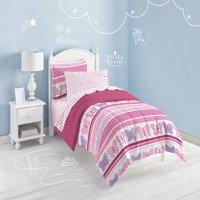 Dream Factory Butterfly Dots Twin Mini Comforter Set Multi