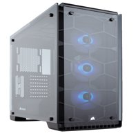 Corsair Crystal Series 570X RGB - Tempered Glass, Premium ATX Mid-Tower Case Cases CC-9011098-WW - CC-9011098-WW