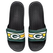 aa818a754 Green Bay Packers Men s Legacy Shower Sport Slide Flip Flop Sandals