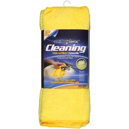 Microtex Microfiber Cleaning Towels, 12 -