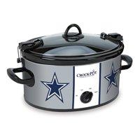 Crock-Pot NFL 6-Quart Slow Cooker, Dallas Cowboys