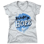 682d92185ed Rejoicing in Hope Christian T Shirt