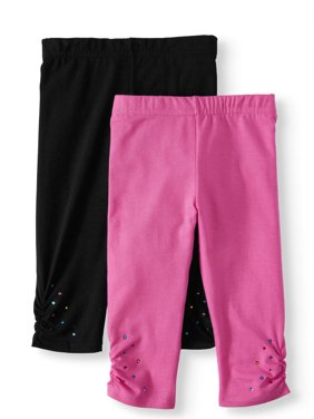 Capri Leggings, 2-Pack (Little Girls & Big Girls)